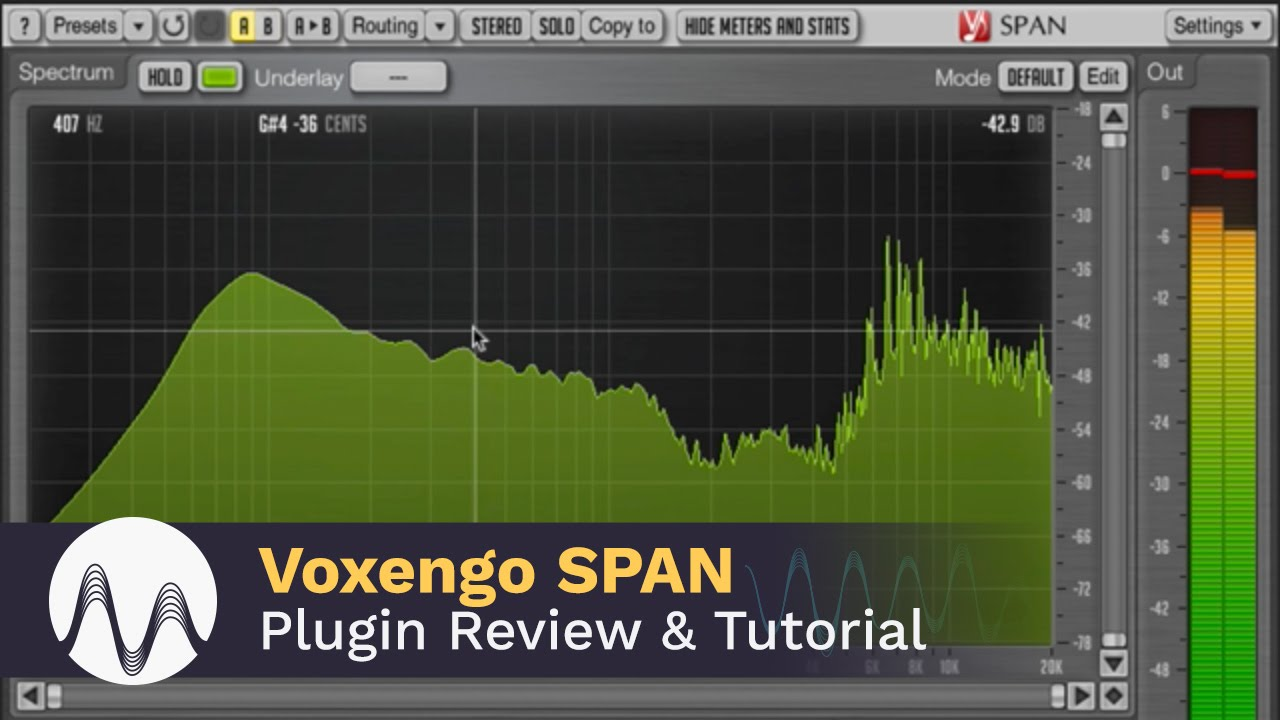 Voxengo SPAN Plugin Review and Tutorial