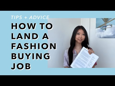 How To Land A Fashion Buying / Merchandising Job 👜 My Path + Advice | PART 2