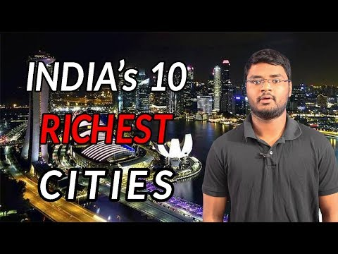 TOP 10 CITIES in INDIA by GDP 2018