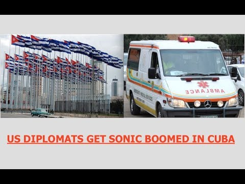 US Diplomats in Cuba Return Home after Getting Sonic Boomed,