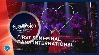 Interval Act - Dana International - First Semi-Final - Eurovision 2019