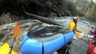 Packrafting the Franklin & Walking out via Frenchmans. Music: Foster the People & Flo Rider