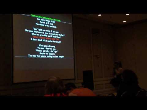 Anime North 2010 - Karaoke - Kingdom Hearts (EN by Hikaru Utada)