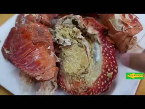 Japanese Street Food   GIANT COCONUT CRAB Seafood Okinawa Japan