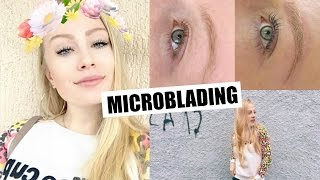 Vlog: microblading nas sobrancelhas