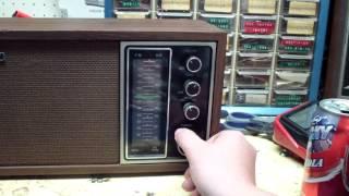 1974 Sony AM-FM Table Radio. Model - TFM-9440W.