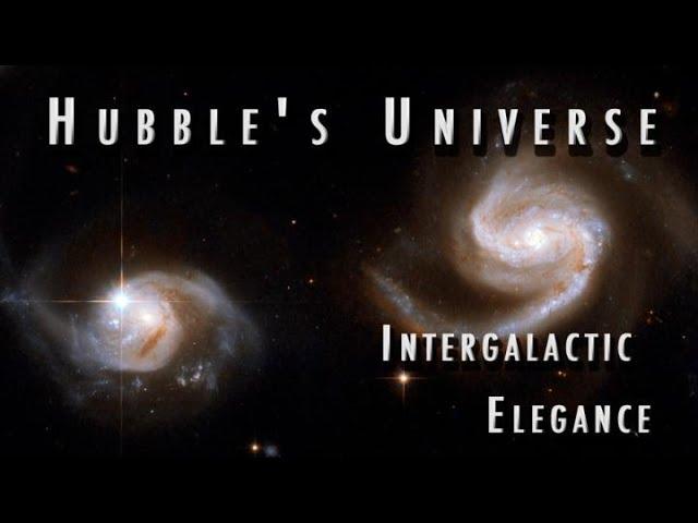 Intergalactic Elegance : Hubble's Universe