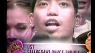 2006 UAAP Cheerdance - Gretchen Fullido Interviews UST SDT