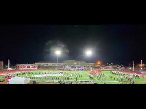 Cabot High School Marching Band 2019 | Senior Night Performance