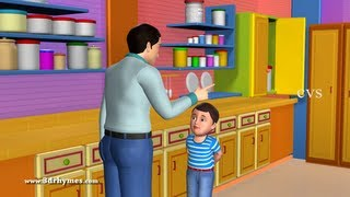 johny johny yes papa poem 3d animation english nursery rhyme for children with lyrics