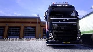 Euro Truck Simulator 2 | Realistic Physics Mod v8.0.1 | 1.7.0+ 1.8.0+ | Official Version!