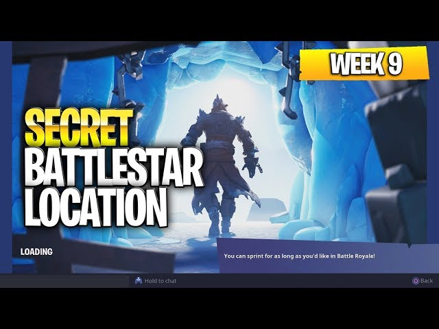 "Fortnite Battle Royale Season 7 Week 9 Secret Battlestar Location (""Snowfall� Challenges)"