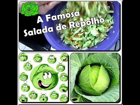 🍴A Famosa Salada de Repolho Diferente com Déby & Ian🍴