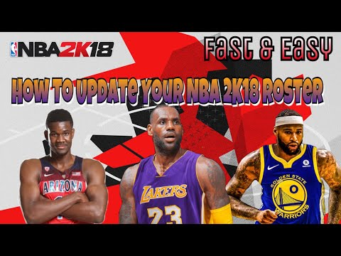 Get Updated NBA 2K20 Rosters On NBA 2K18 WITH FREE AGENCY & ROOKIES! (PS3/PS4/XBOX 360/XBOX ONE)