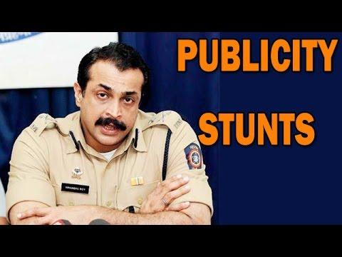 ATS Chief Himanshu Roy calls underworld threat calls a 'PUBLICITY STUNT'   Bollywood News