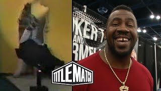 Stevie Ray Reacts to the Shockmaster Incident in WCW