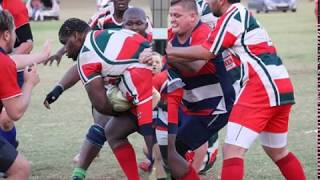 Brits prop plays rugby with artificial leg