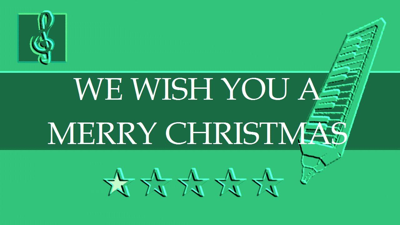 Melodica Guitar Duet We Wish You A Merry Christmas Sheet Music