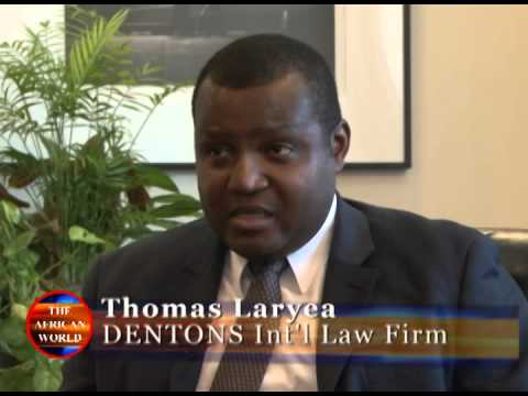 The African World TV Featuring Ghana Ambassador Daniel Agyekum and  Thomas Laryea of Dentons
