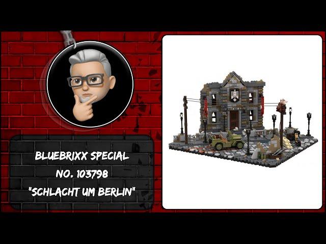 BlueBrixx Special No. 103798 Diorama: Schlacht um Berlin - eigentlich ein klasse Set, aber der Jeep.