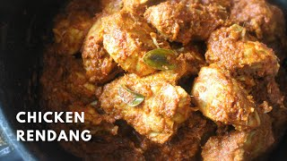 Chicken Rendang Recipe  Easy &amp Delicious  Hot &amp Spicy!