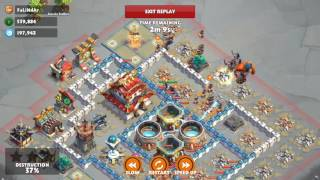 Samurai Siege Gameplay Castle lvl 7 Farming 01