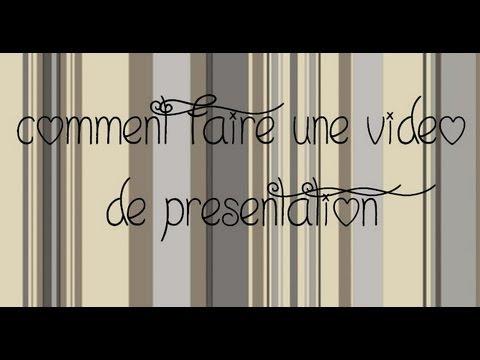 Comment faire une vid o de pr sentation youtube - Faire une raclette originale ...