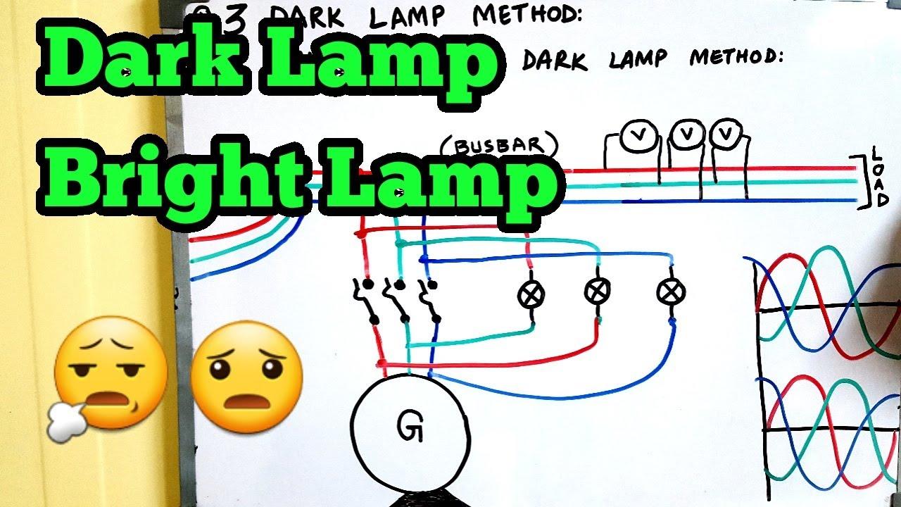 3 Dark Lamp Method 2 Bright Lamp And 1 Dark Lamp Method Explained In Urdu Hindi Youtube