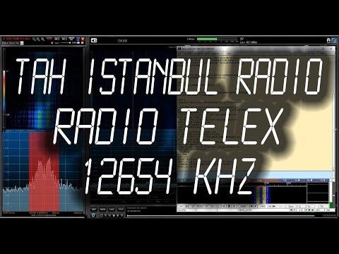 TAH Istanbul Radio, Turkey - Radio Telex - 12654 kHz
