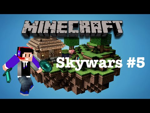 Minecraft SKYWARS - More than 1 win? Nope! I suck(#5)