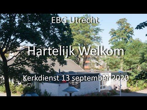 EBG- Utrecht Dienst 13 september 2020
