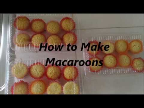 Filipino Coconut Macaroons Pang Business Part 2 How To Make Macaroons Taste Buds Ph Youtube