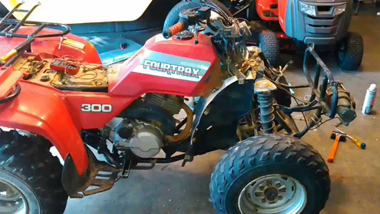 1996 Polaris Sportsman 500 Stator Wiring Diagram Honda 300 Coil And Cdi Troubleshooting For No Spark Youtube