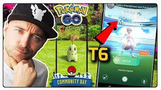 NOWY MEWTWO RAID W POKEMON GO! SHINY CHIKORITA COMMUNITY DAY