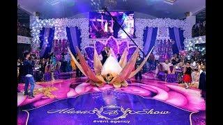 Выход невесты из цветка лотоса в восточном стиле с шоу балетом Vip Dance