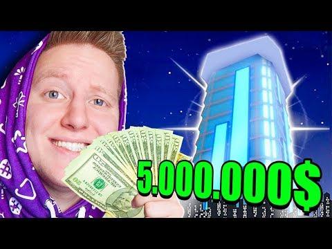 КУПИЛ ПЕНТХАУС ЗА 5.000.000 $$$ В ROBLOX MAD CITY