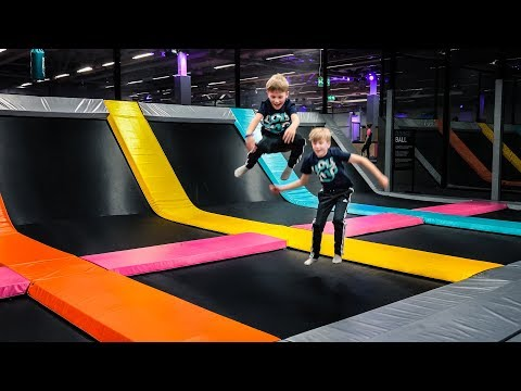 Trampoline Park Fun at Yoump
