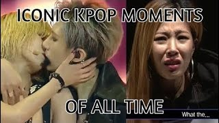 The most iconic kpop videos of all time! funny/legendary moments! (Re-upload