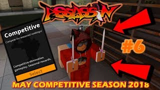 ROBLOX - France ASSASSIN: MAY COMPETITIVE SEASON 2018 #6 (WIND ELEMENTAL GAMEPLAY)