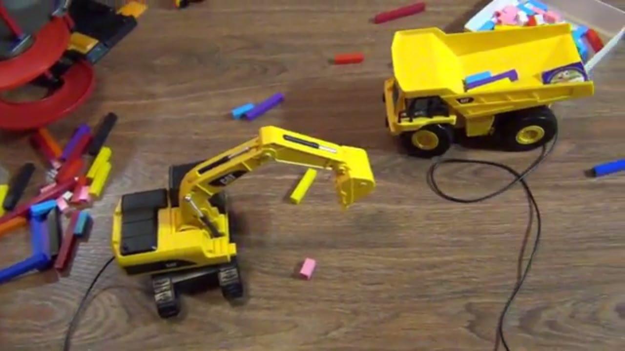 Подъемный кран Wader Middle Truck - YouTube