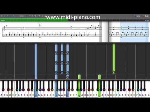 How to Play - Downton Abbey - Piano Tutorial WIth Sheet Music