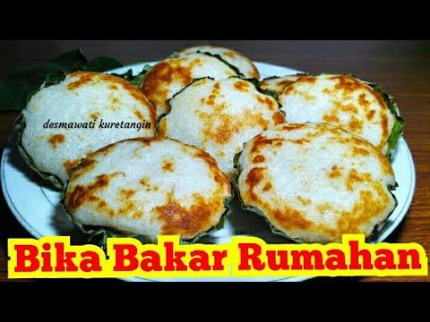 Resep Bika Padang Pariaman Rumahan Khas Minang Sumatera Barat Kue Singgang Youtube