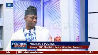 Kogi State Politics: Senator, PDP Chieftains Berates Gov. Over Projects Pt.1  Politics Today 