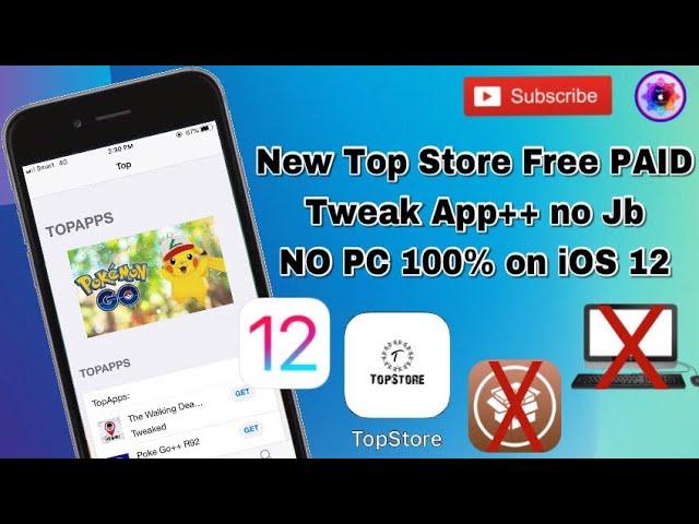 New App TopStore free all app PAID and Tweak App +++ No jailbreak