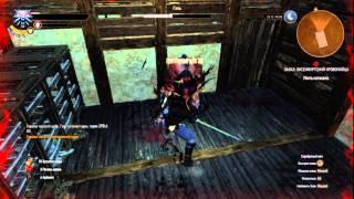 Witcher 3 Katakan lvl 26 vs Geralt lvl 13 (Death March).