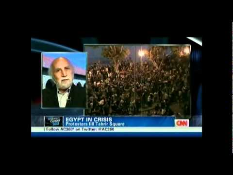 Current state of Revolution in Egypt discussed on AC360 with Khalid Abdalla