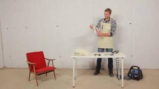 видео Обивка углового дивана в Красногорске