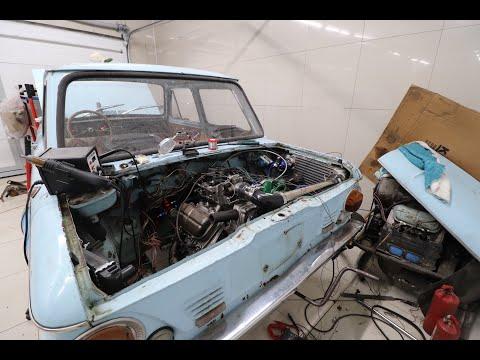 Инжекторный ТУРБО двигатель на Заз 968. Часть 11 (первый выезд и проблемы)