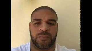 Adriano Imperador fala que vai processar fãs de sua rede social.