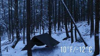 Cold Winter Hammock Camp